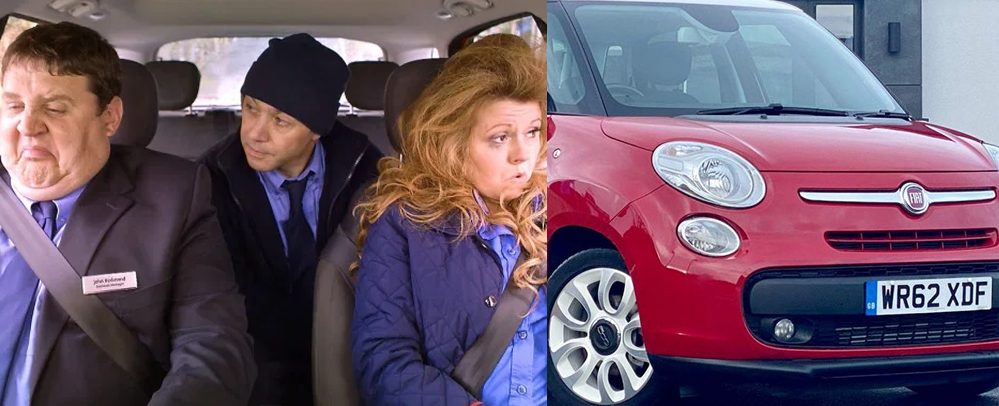 The car used in Peter Kay's Car Share is up for sale