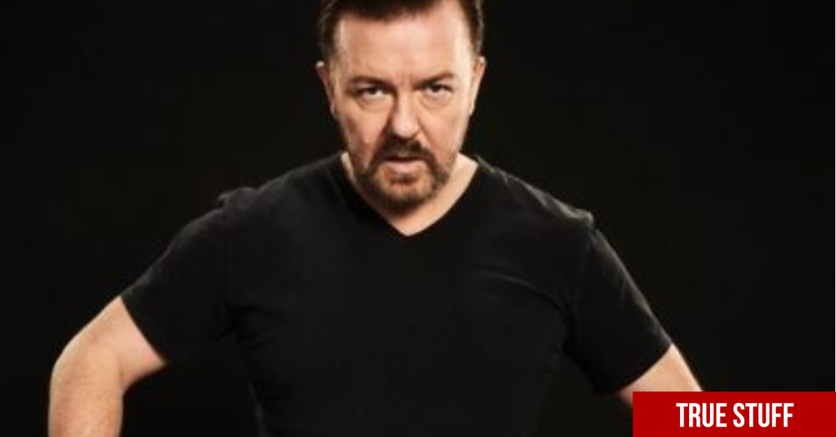 "Ricky Gervais rips into celebrity ""ponces"" & believes front line workers should get the recognition instead"