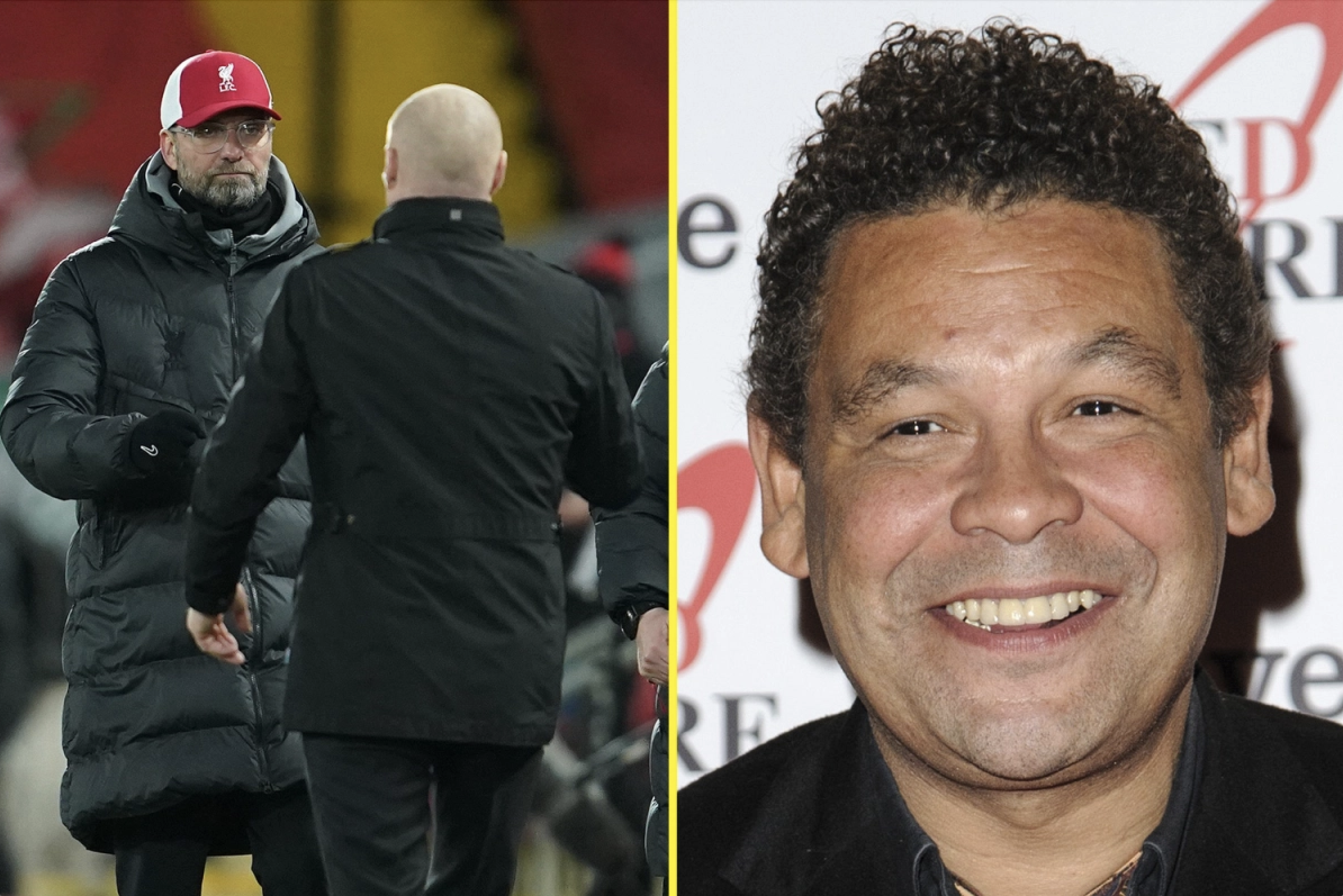 Red Dwarf star Craig Charles is angry at some Liverpool fans treatment of manager Jurgen Klopp
