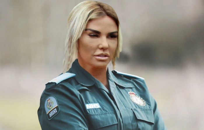 Katie Price causes confusion after it is revealed she is training to become a Paramedic