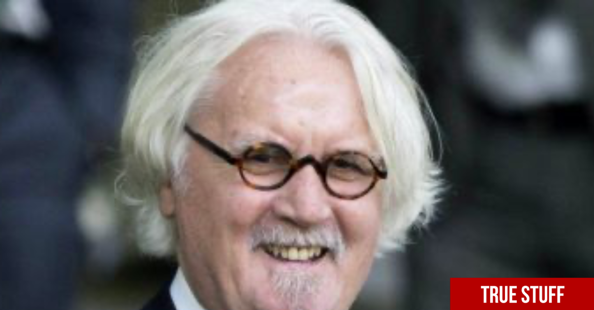 Sir Billy Connolly oozes coolness receiving second jab whilst his wife reacts with delight