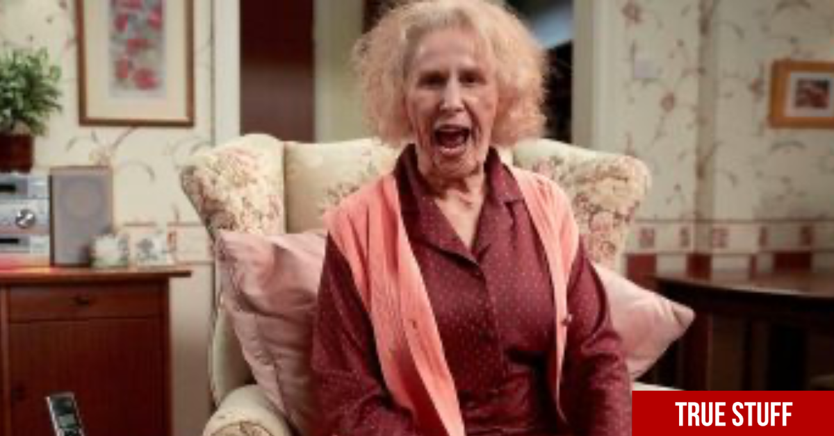 Catherine Tate's Nan is back for a special sketch with legendary actor