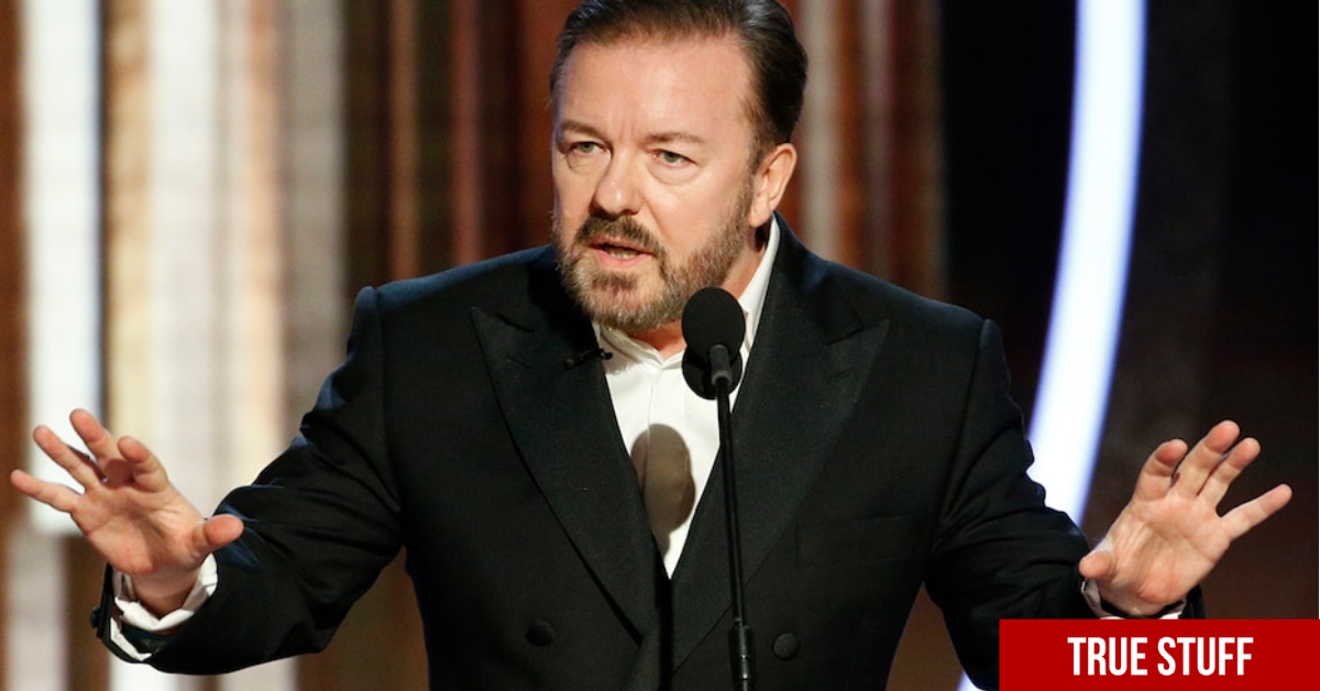 Ricky Gervais rips the 'Prophet Mohammed' protestors in classic Ricky style after school teacher incident